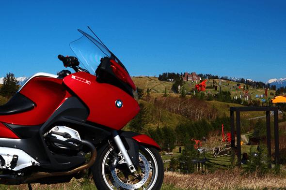 新車のバイク