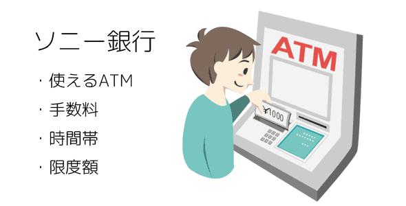 ソニー銀行ATM