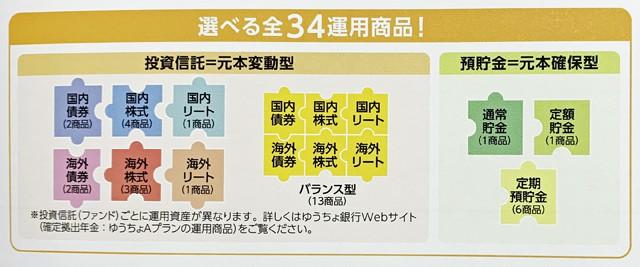 ゆうちょ銀行のiDeCoパンフレット